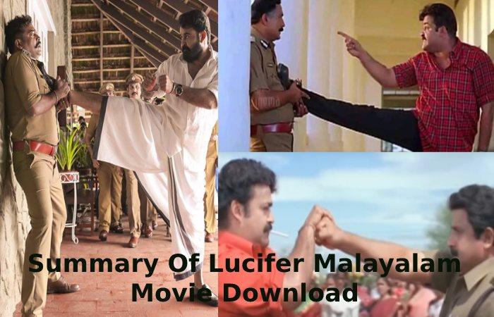 Summary Of Lucifer Malayalam Movie Download